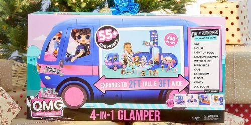 L.O.L. Surprise! 4-in-1 Glamper Fashion Camper Only $51.88 Shipped on Walmart.com (Regularly $100)