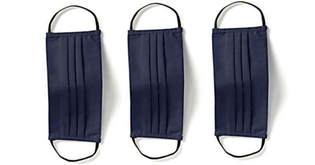 Masker Wajah Ujung Laut Angkatan Laut 3-Pack