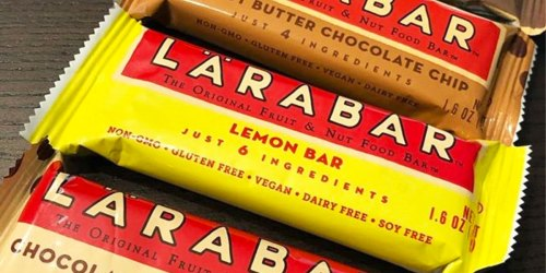 Lärabar Bars 16-Count from $9 Shipped on Amazon (Just 58¢ Per Bar) | Gluten-Free & Vegan