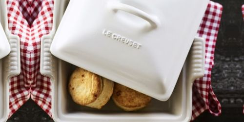 Le Creuset Heritage Stoneware Square Baker w/ Lid Only $59.95 Shipped (Regularly $115)