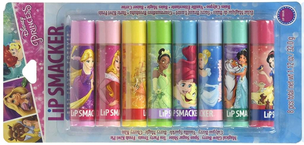 disney princess 8 count lip smackers