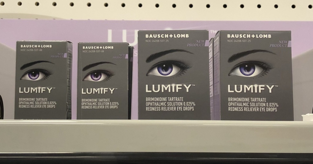 eye drops on shelf
