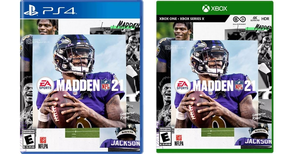 Madden 21 PlayStation or Xbox Game Only $21.59 on Target.com (Regularly $59+)