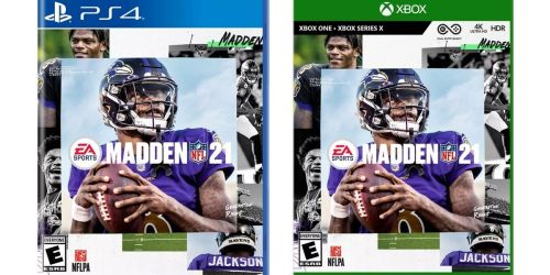 Madden 21 PlayStation or Xbox Game Only $28.79 on Target.com (Regularly $59+)