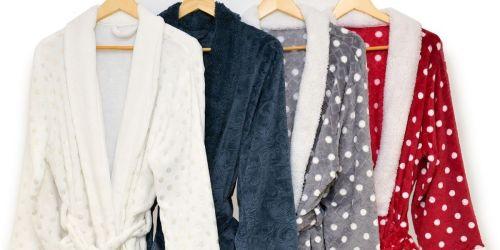 Martha Stewart Plush Bath Robes Only $18 on Macys.com (Regularly $60)