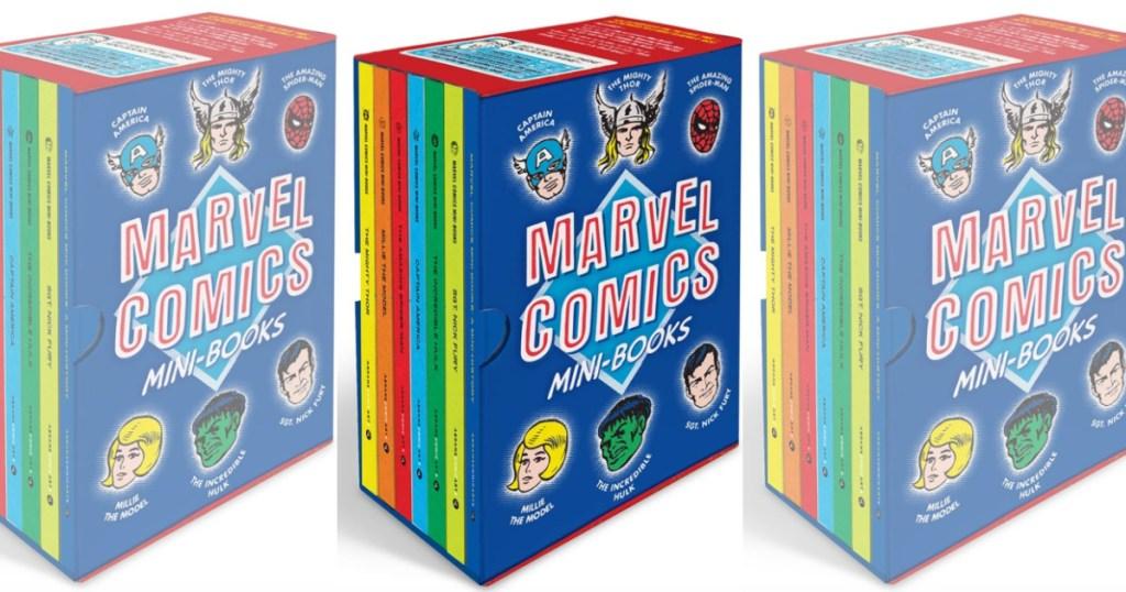 Marvel Comics Min Books Set
