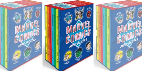 Marvel Comics Mini-Books Collectible Boxed Set Just $11.93 on Amazon (Regularly $30)
