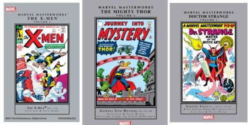 Marvel Masterworks Digital Comics for Kindle Only 99¢ on Amazon