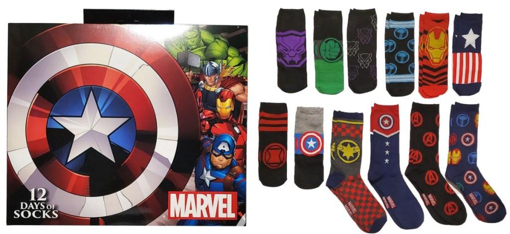 Marvel Socks Advent Calendar