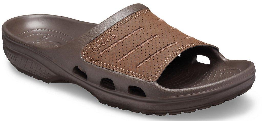 brown Men's Bogota Slide crocs