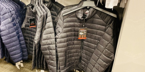 ZeroXposur Men's Lightweight Quilted Puffer Jacket from $11.99 on Kohl's.com (Regularly $70)