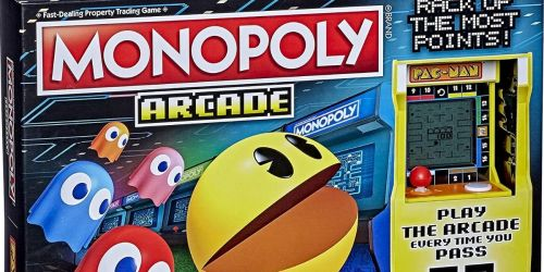 Monopoly Pac-Man Game Only $15 on Amazon (Regularly $30)