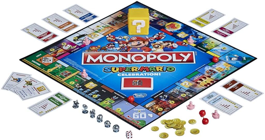 Monopoly Super Mario Bros. Board Game