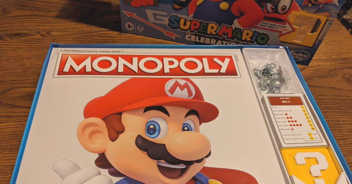 Monopoly Super Mario Bros. Board Game Only $15 on GameStop.com (Regularly $30)