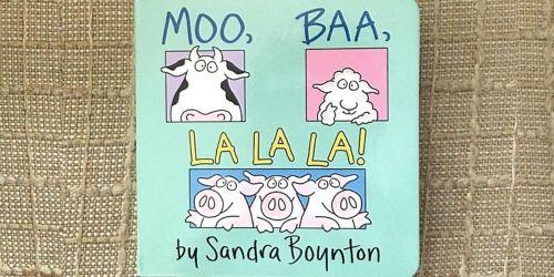 Moo Baa La La La Board Book Only $2.95 on Amazon (Regularly $6)