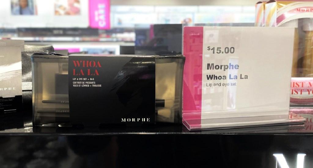 Morphe Lip Eye Gift Bag Set Only 10 On Ulta Com 37 Value Hip2save Morphe logo in expanded mobile menu. morphe lip eye gift bag set only 10