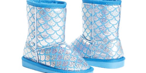 Muk Luks Kids Sparkly Mermaid Boots Only $12.99 Shipped (Regularly $44)