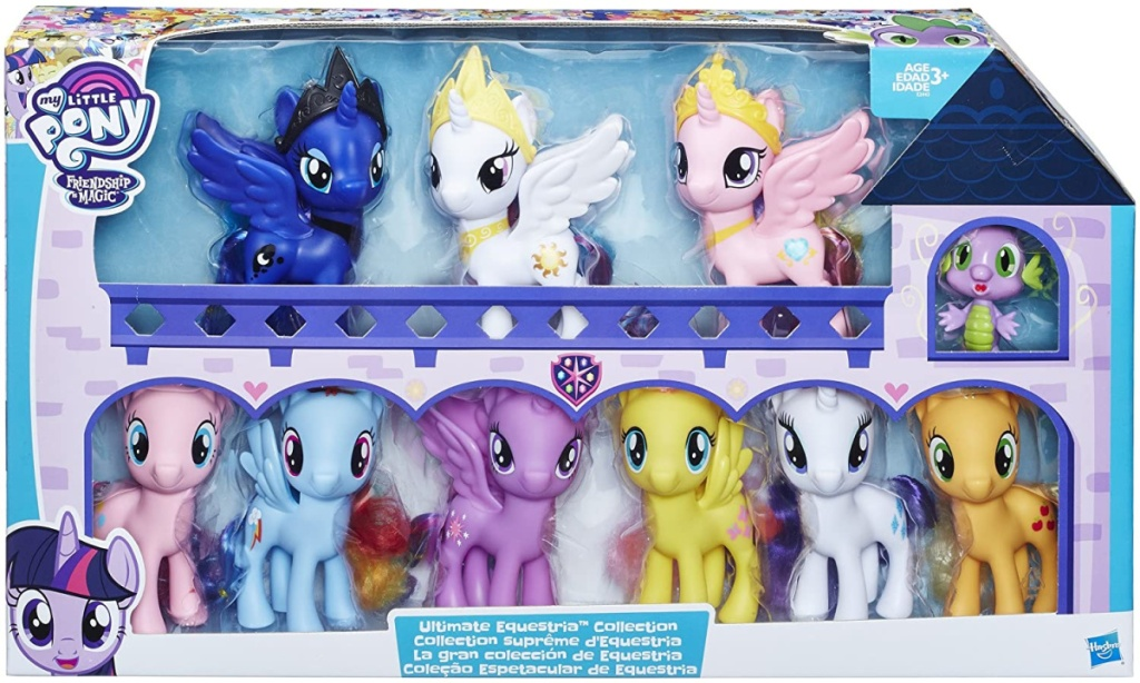 My Little Pony Friendship is Magic Toys Ultimate Equestria Collection (1)