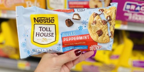 Add a Unique Twist to Holiday Baking w/ Nestle Toll House Peppermint Filled Baking Truffles