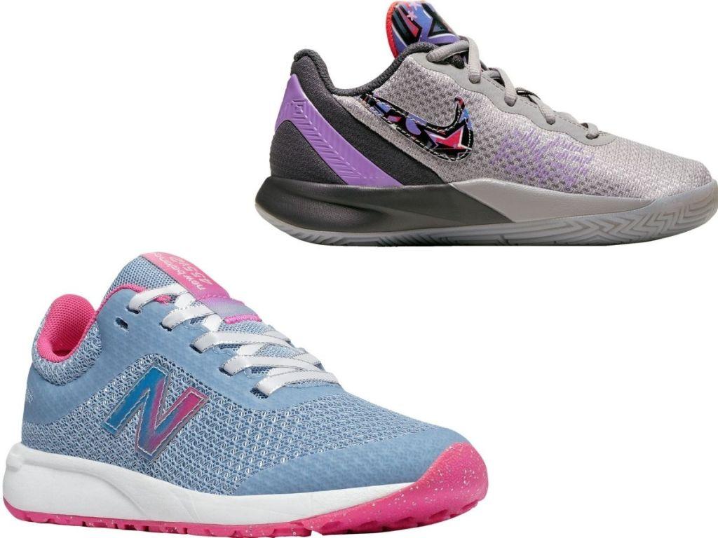 New Balance and Nike Kids Shoes
