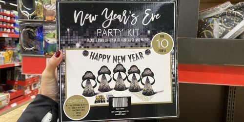 New Year's Eve Party Kit Only $7.99 at ALDI | Includes Hats, Blowers & More