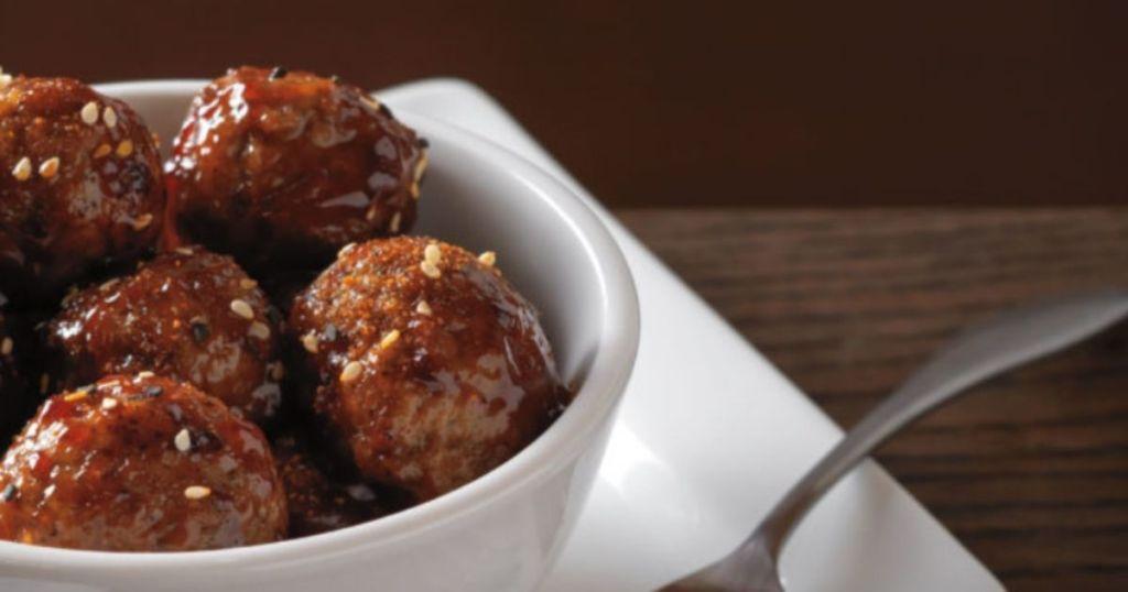 Noodles & Company Korean BBQ Meatballs