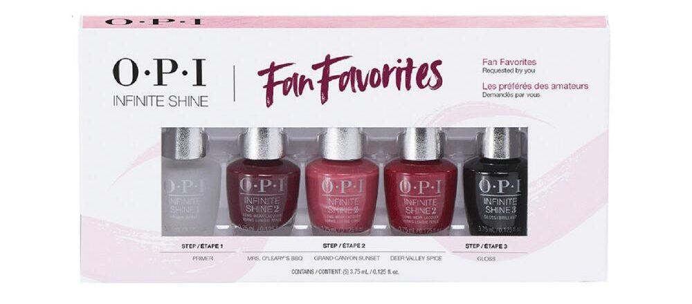 OPI Infinite shine set in box