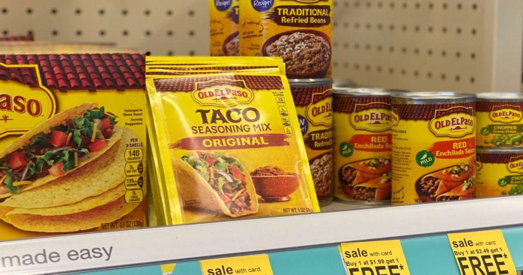 el paso products on shelf