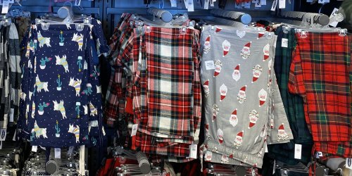 *HOT* Old Navy Christmas Pajama Pants from $4… AND Holiday Reusable Face Mask 5-Packs Just $5!