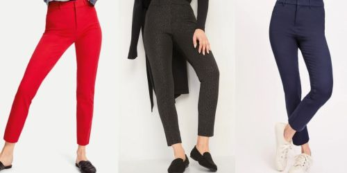 Old Navy Women's Pixie Pants Only $15 (Regularly $40)   Over 1,000 5-Star Reviews