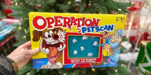 Operation Pet Scan Board Game w/ Silly Sounds Only $10 on Walmart.com (Regularly $20)