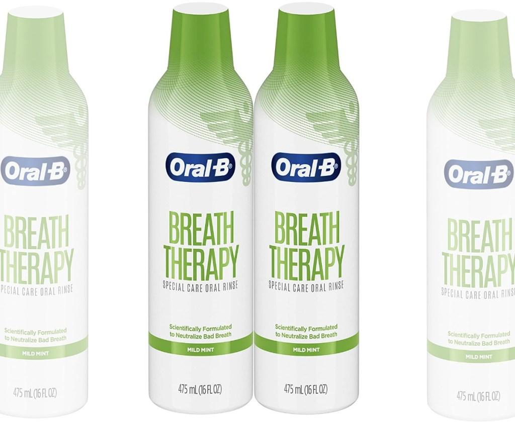 Oral B mouthwash in a bottle 2-pack