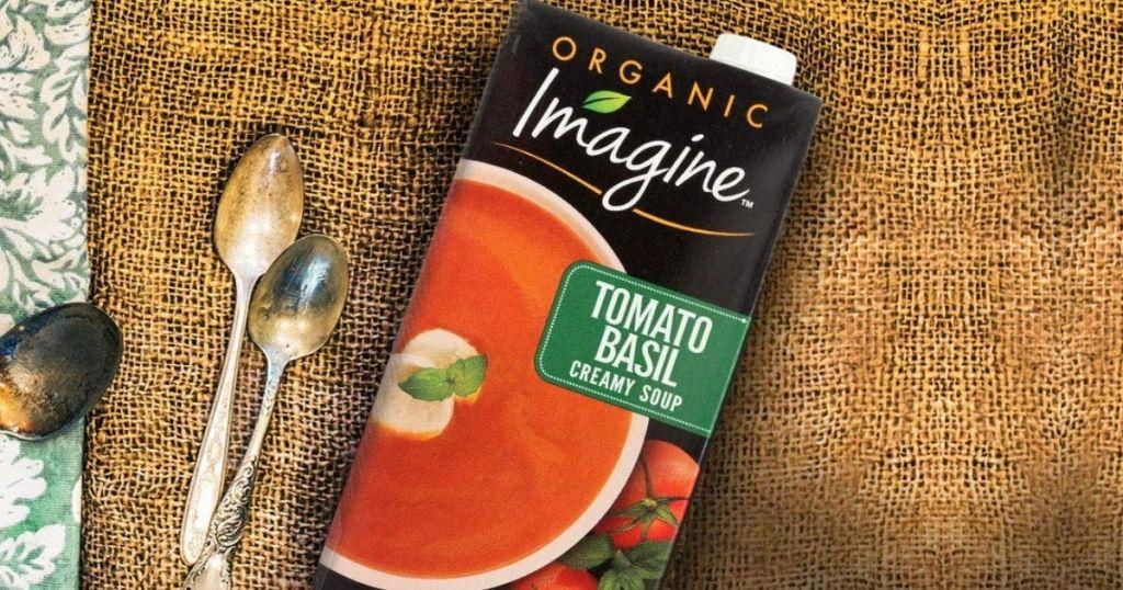 Imagine Organic Tomato Basil Soup