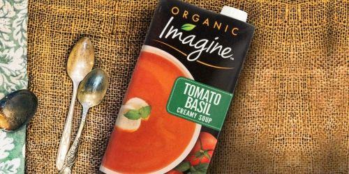 Imagine Organic 32-Ounce Creamy Soups From $2.54 Shipped on Amazon