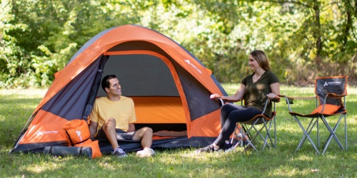 Ozark Trail 22-Piece Camping Tent Bundle Only $99 Shipped on Walmart.com | Includes Chairs, Sleeping Bags, & More