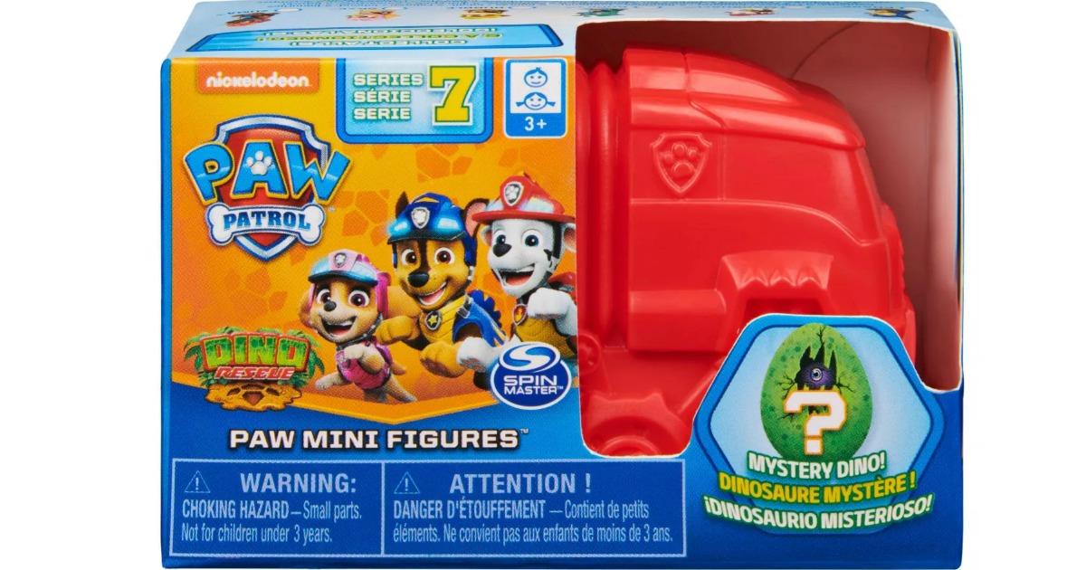PAW Patrol Dino Rescue Collectible Blind Box in packaging