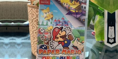 Paper Mario The Origami King Nintendo Switch Game Only $49.99 Shipped on Amazon (Regularly $60)