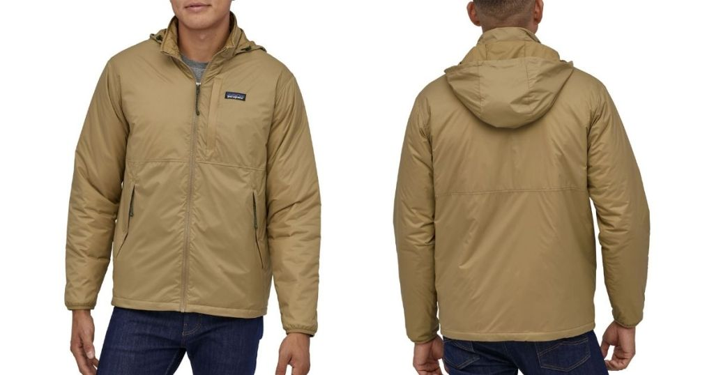 front and back of Patagonia Men's Mojave Trails Jacket