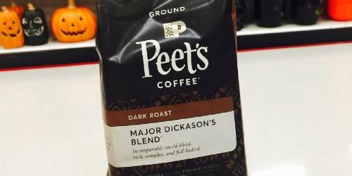 Peet's Ground Coffee 18oz Bag Only $7 Shipped on Amazon