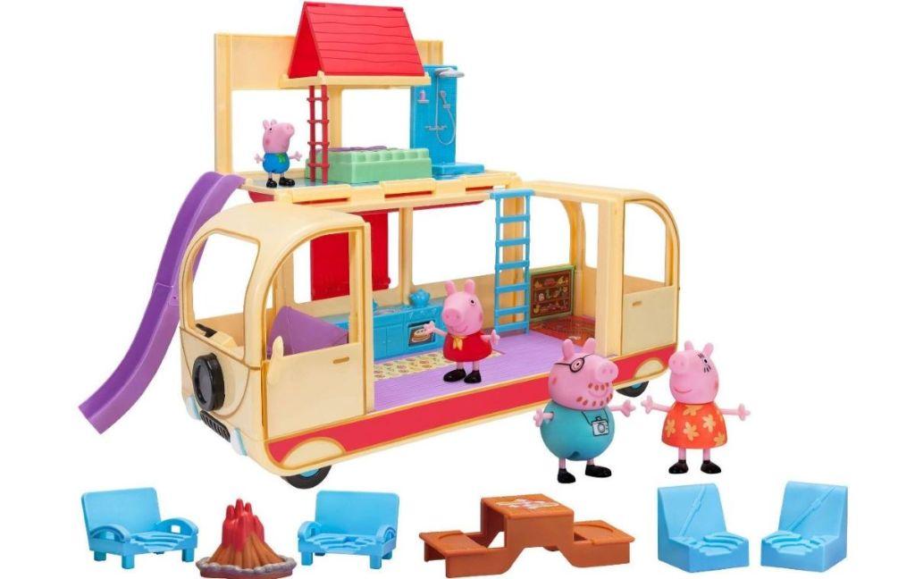 Peppa Pig Transforming Camper Van with accessories