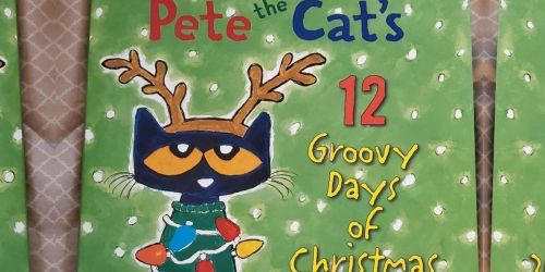 Pete the Cat's 12 Groovy Days of Christmas Hardcover Book Only $4.87 on Amazon (Regularly $13)