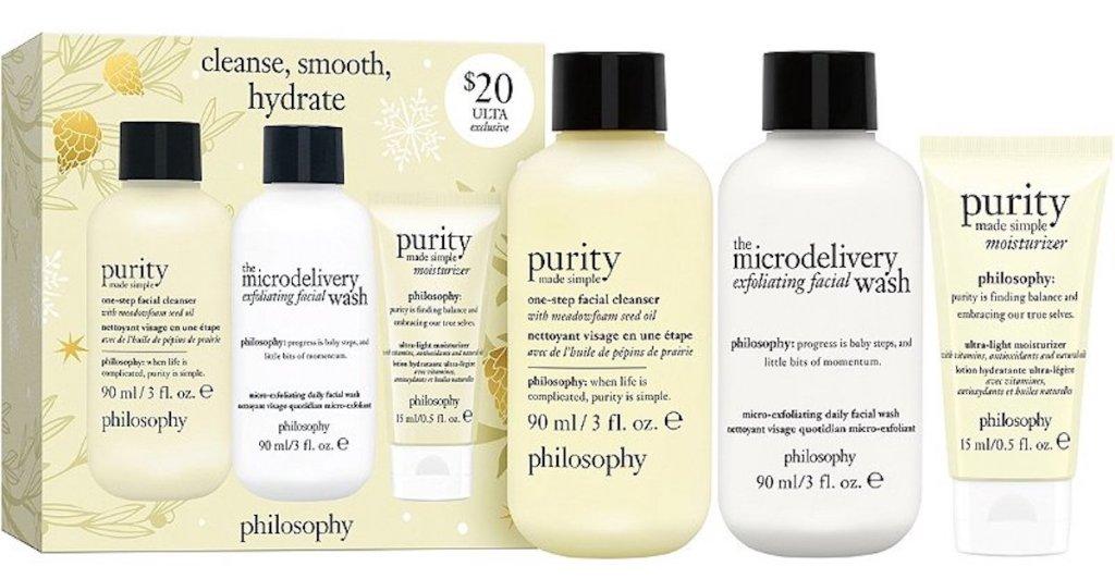 Philosophy 3-Piece Skin Care Set