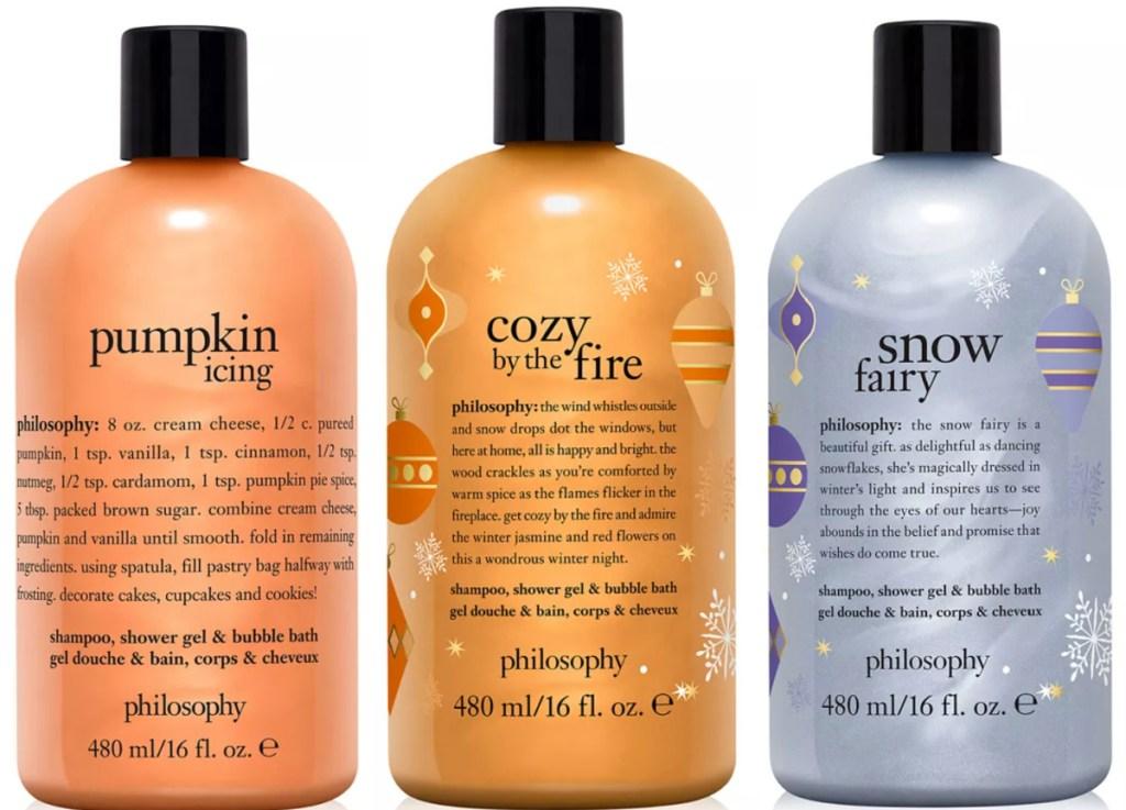 3 philosophy body washes