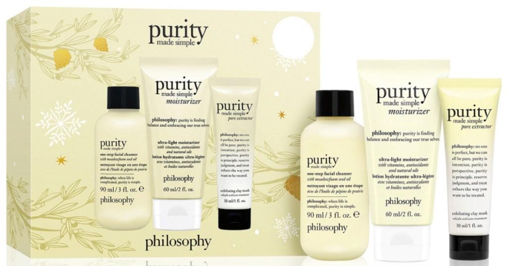 philosophy 3 piece gift set
