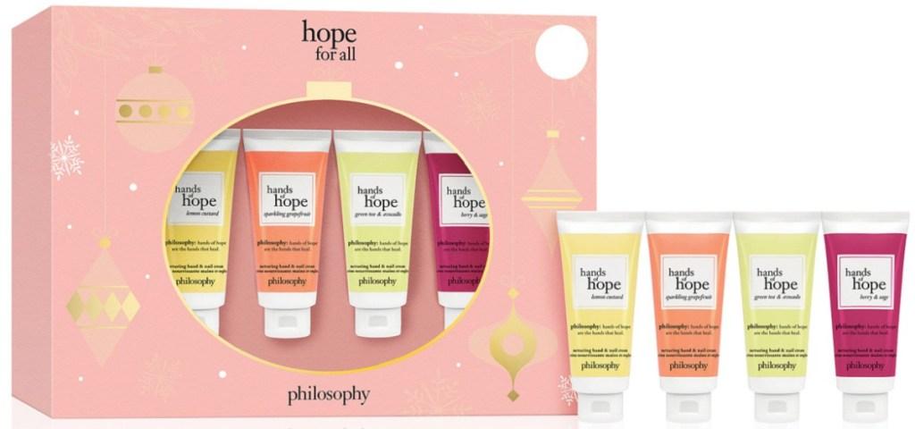 philosophy helping hands gift set