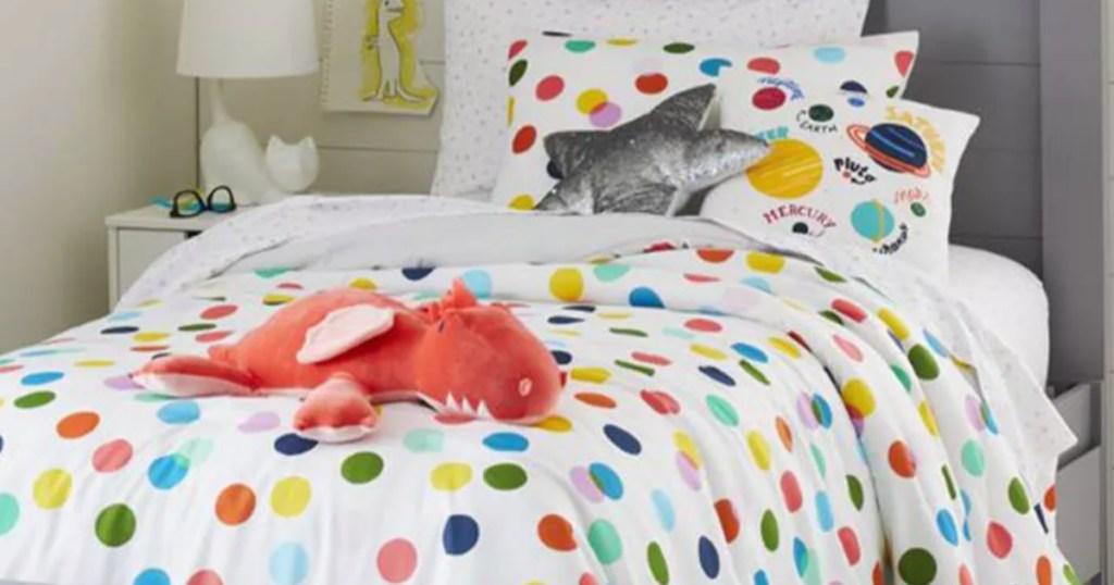 Pillowfort dragon throw pillow