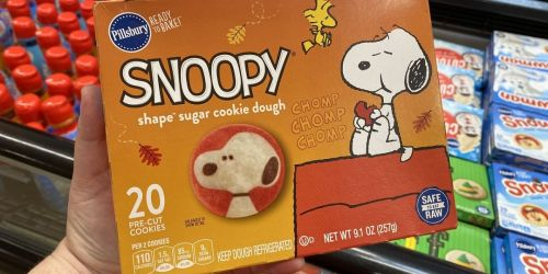 These NEW Pillsbury Snoopy Sugar Cookies Are Just Too Dog-Gone Cute