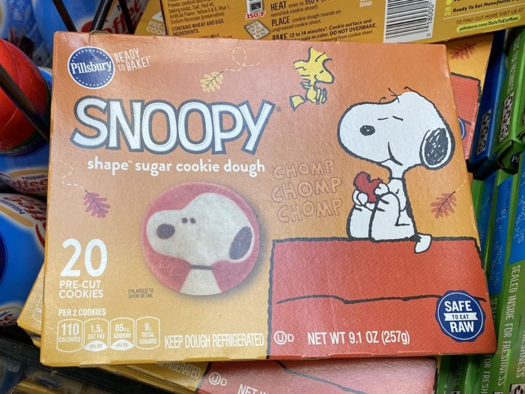 Kue Gula Pillsbury Snoopy