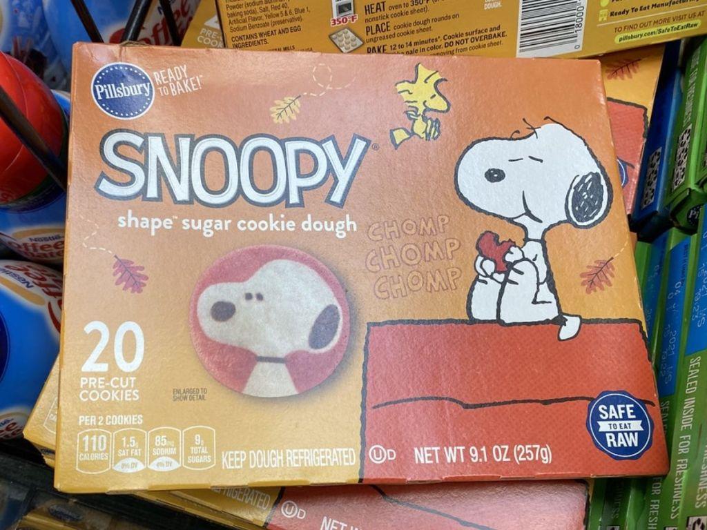 Pillsbury Snoopy Sugar Cookies