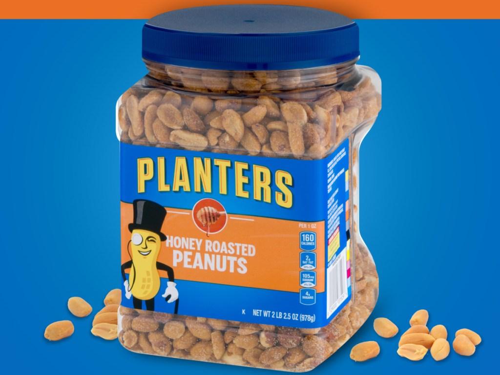 honey roasted planter's peanuts
